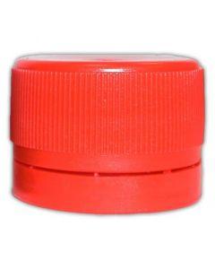 Schraubverschlüsse 28 mm rot