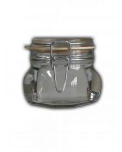 Einmachglas 530 ml weiß mit