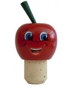 Korken Apfel rot 18mm