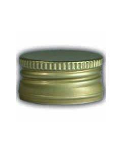 Schraubverschluss Alu gold 31,5mm
