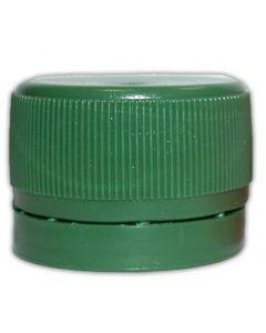 Schraubverschlüsse 28 mm grün