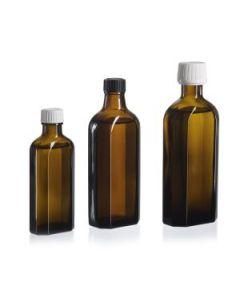Meplatflasche 100 ml braum DIN 22