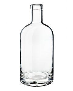 Gin-Whisky 0,5l Vetro 18 mm Korkmündung